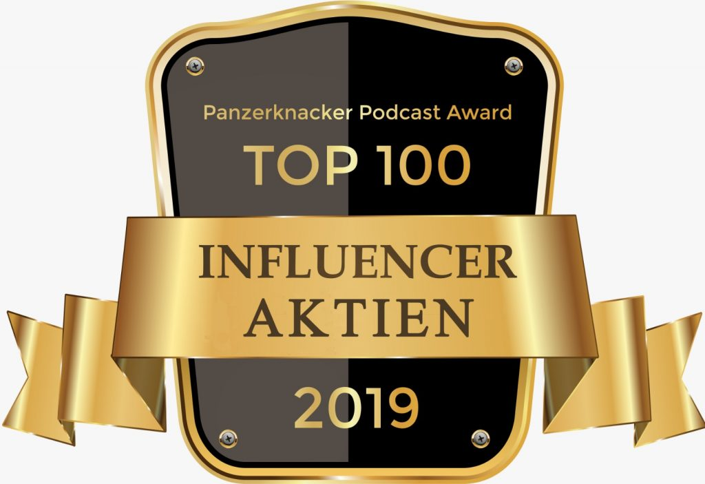 Top 100 AKTIEN Influencer - Panzerknacker Award 4