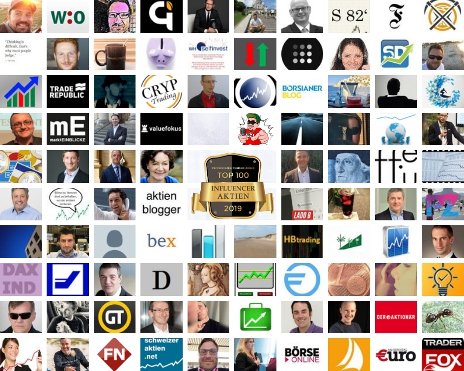 Top 100 AKTIEN Influencer - Panzerknacker Award 3
