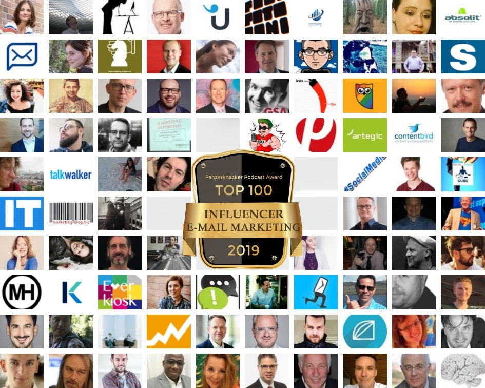 Top 100 E-Mail Marketing Influencer 1