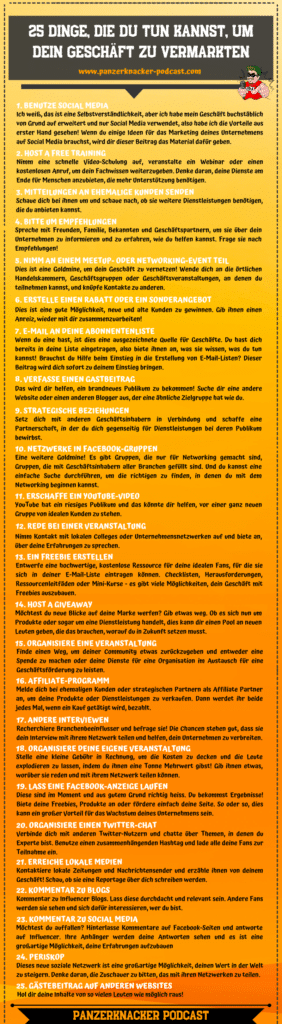 25 Marketingwege Cheat Sheet 1